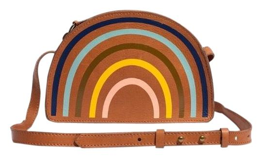 Preload https://img-static.tradesy.com/item/26183484/madewell-simple-half-moon-edition-tan-and-rainbow-leather-cross-body-bag-0-1-540-540.jpg