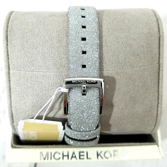 Michael Kors NEW Women's Charley Silver-Tone Watch MK2793 Image 8