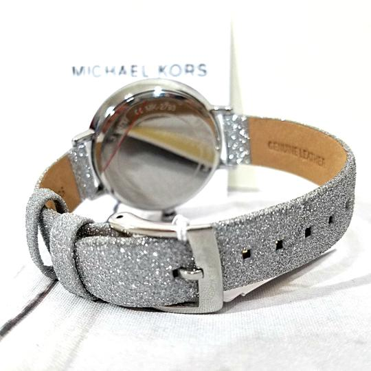 Michael Kors NEW Women's Charley Silver-Tone Watch MK2793 Image 9