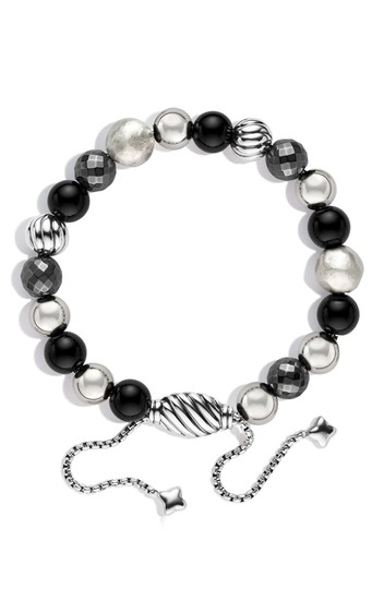 Preload https://img-static.tradesy.com/item/26183543/david-yurman-silver-sterling-dy-elements-spiritual-beads-onyx-bracelet-0-3-540-540.jpg