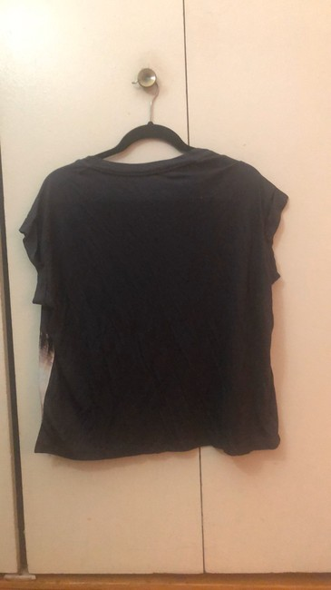 AllSaints Top black with pink and blue Image 4