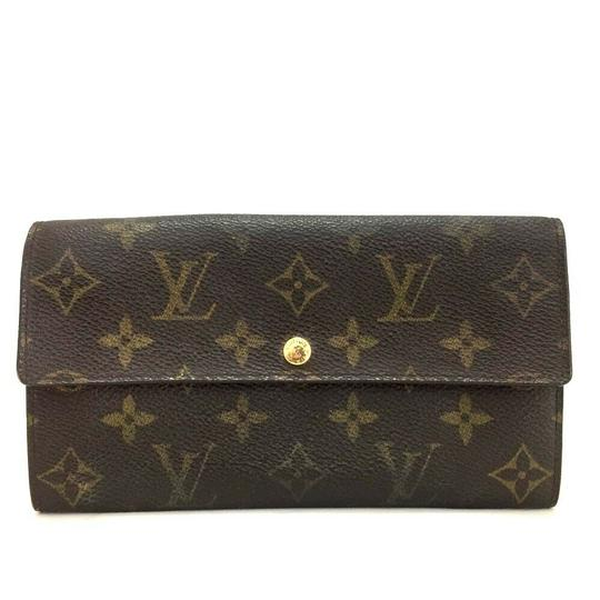 Preload https://img-static.tradesy.com/item/26183571/louis-vuitton-brown-sarah-portefeiulle-long-bifold-wallet-1823g70-0-0-540-540.jpg