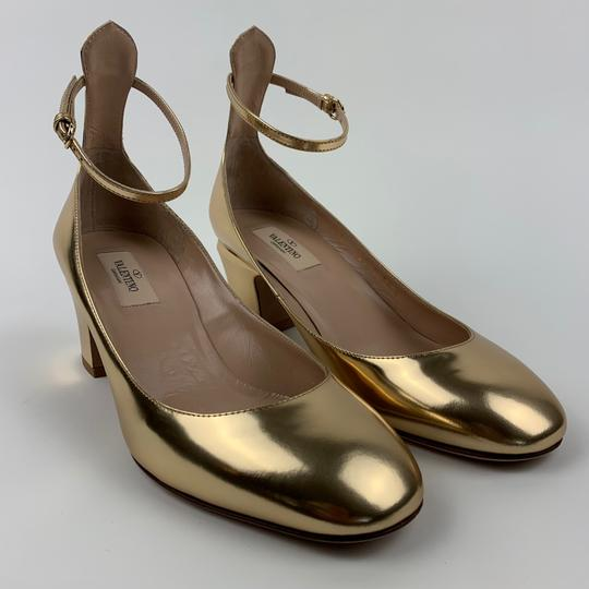 Valentino Gold Pumps Image 1