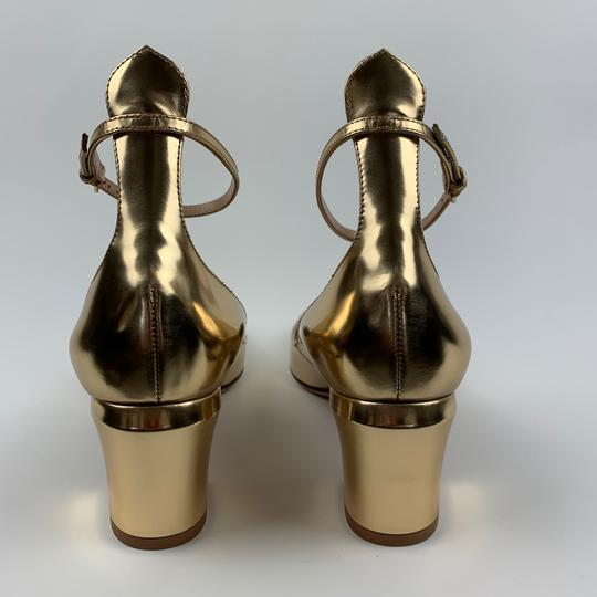Valentino Gold Pumps Image 2
