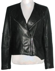 Helmut Lang Leather Leather Moto Motorcycle Jacket