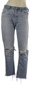 RE/DONE Casual Relaxed Fit Jeans-Light Wash