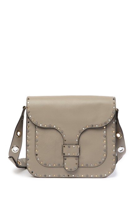 Item - Midnighter Large Taupe Leather Messenger Bag