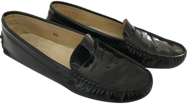 Item - Black Ultimate Patent Leather Loafers Flats Size US 7.5 Regular (M, B)