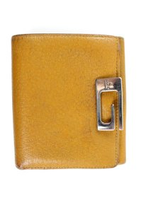 Gucci Yellow Leather Wallet