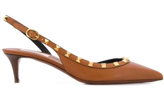 Valentino Brown Sandals Image 1