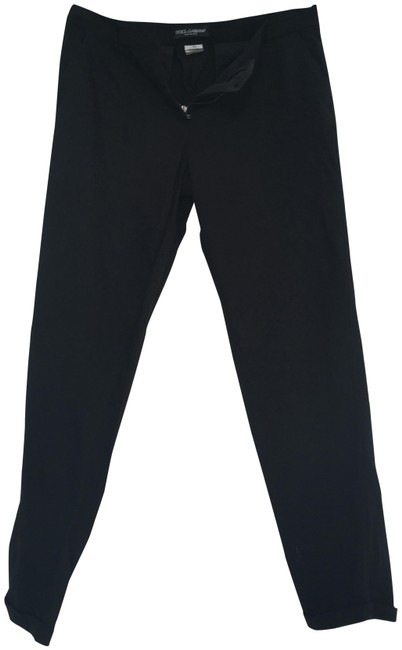 Dolce&Gabbana Black Business Woman Collection Pants Size 10 (M, 31) Dolce&Gabbana Black Business Woman Collection Pants Size 10 (M, 31) Image 1