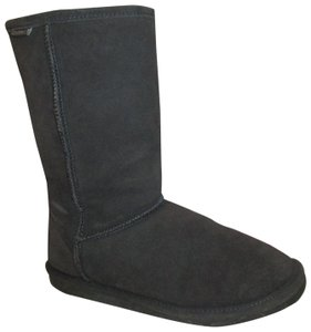 Bearpaw Emma Suede Leather Onm003 gray Boots