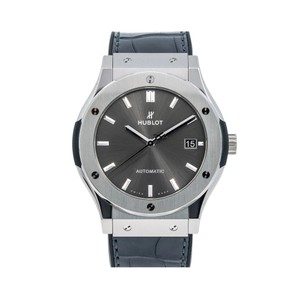 Hublot Hublot Classic Fusion Racing Grey 511.NX 45MM Silver Dial With Leather