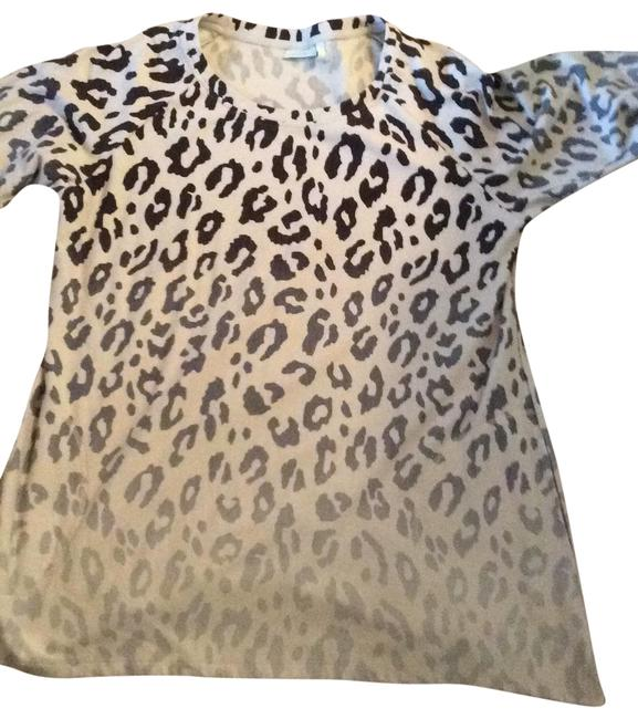 Item - Black and Cream Tunic Size 18 (XL, Plus 0x)