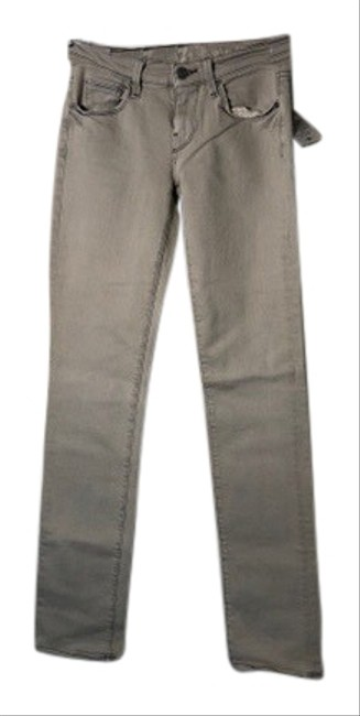 Item - Light Grey Wash Classic In Straight Leg Jeans Size 0 (XS, 25)