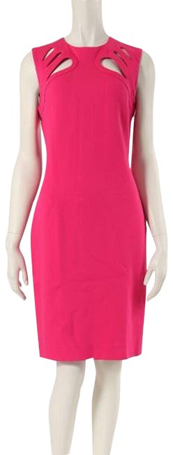 Item - Hot Pink/ Jazz Berry Sidra Mid-length Cocktail Dress Size 8 (M)
