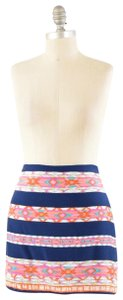 Alice & Trixie Colorful Geometric Print Mini Mini Skirt Multicolor