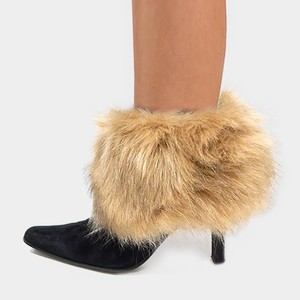 Other New Fur Top Leg Warmers Boot Topper pair