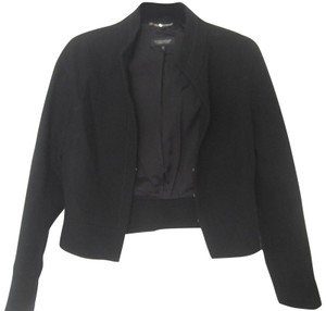 STRENESSE Wool Fitted Sneaky Pete Tv Show black Blazer