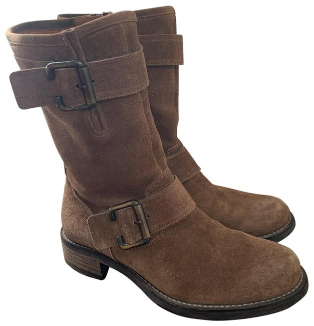 Item - Brown Leather Suede Boots/Booties Size US 5.5 Regular (M, B)