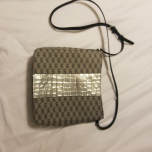 MICHAEL Michael Kors Grey and silver Messenger Bag