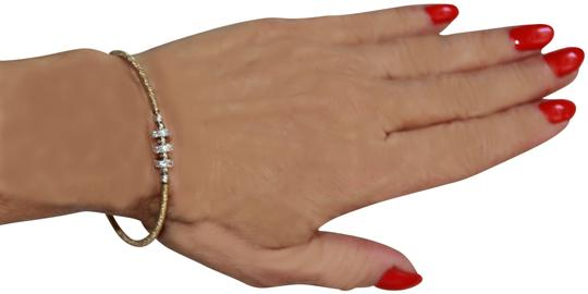 Preload https://img-static.tradesy.com/item/26187661/18kt-gp-coil-and-sterling-silver-with-pave-sparkling-italy-bracelet-0-1-540-540.jpg