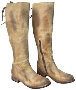 Bed|Stü Distressed Tan Boots