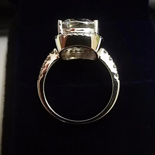 New In Stock Let Me Know In Message. Vvs1 Band Piece Set. No Tarnish Or Fade. New Engagement Ring Image 2