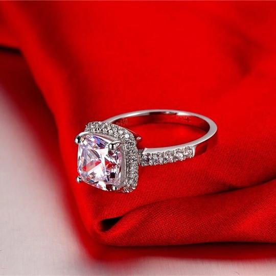 New In Stock Let Me Know In Message. Vvs1 Band Piece Set. No Tarnish Or Fade. New Engagement Ring Image 4