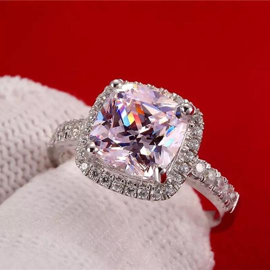 New In Stock Let Me Know In Message. Vvs1 Band Piece Set. No Tarnish Or Fade. New Engagement Ring Image 6