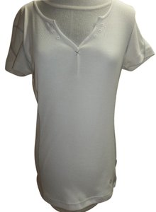 Mountain Hardwear Short Sleeve Gray Accents Logo Venting Tunic