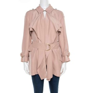 Burberry Silk Pea Coat