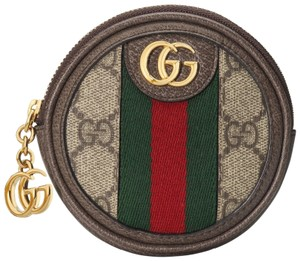 Gucci Ophidia round coin purse w/ web