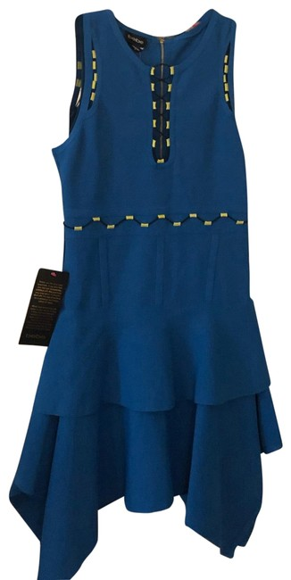 Item - Navy Blue Never Full Mid-length Night Out Dress Size 8 (M)