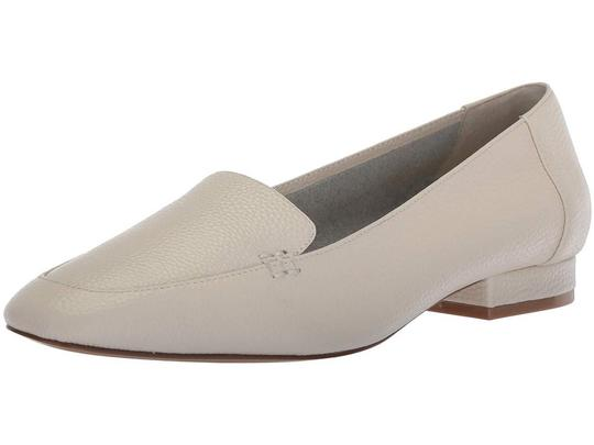 Bettye Muller Loafer Leather White Flats Image 4