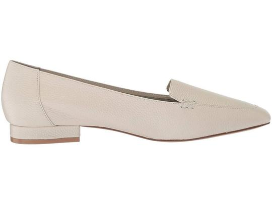 Bettye Muller Loafer Leather White Flats Image 5
