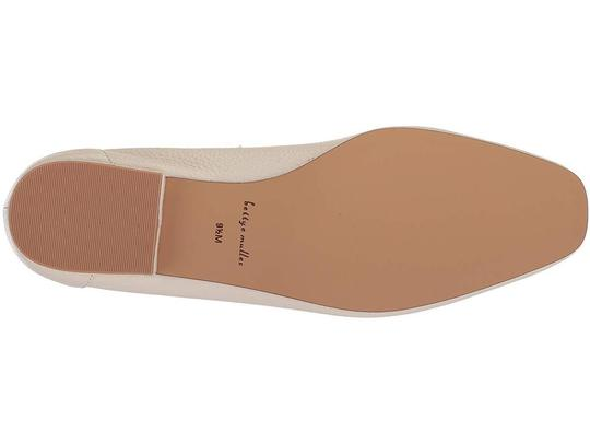 Bettye Muller Loafer Leather White Flats Image 9
