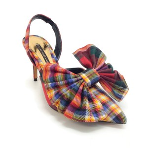 Alexandre Vauthier Multi Plaid Pumps