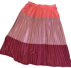 Corey Lynn Calter Color-blocking Pleated Skirt