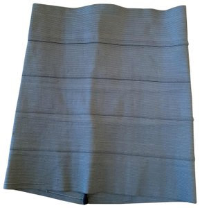 Pleasure Doing Business Mini Night Out Mini Skirt Gray