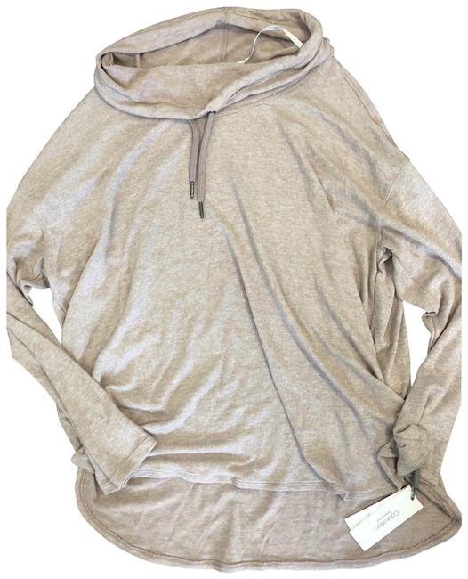 Item - Heathered Lavender Cowl Neck Pullover Activewear Top Size 22 (Plus 2x)