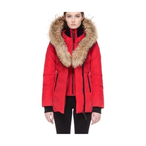 Mackage Down Soldout Leather Fur Coat