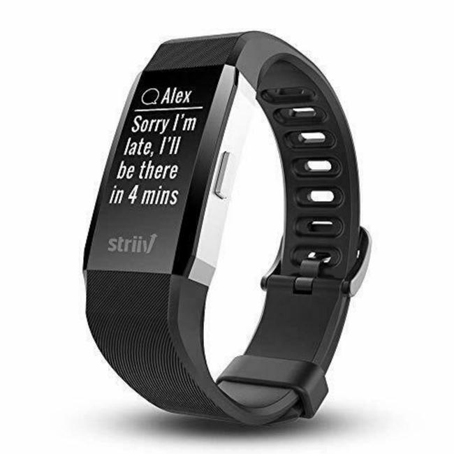 Black Apex Hr Activity Tracker with Smartphone Functions Watch Black Apex Hr Activity Tracker with Smartphone Functions Watch Image 1