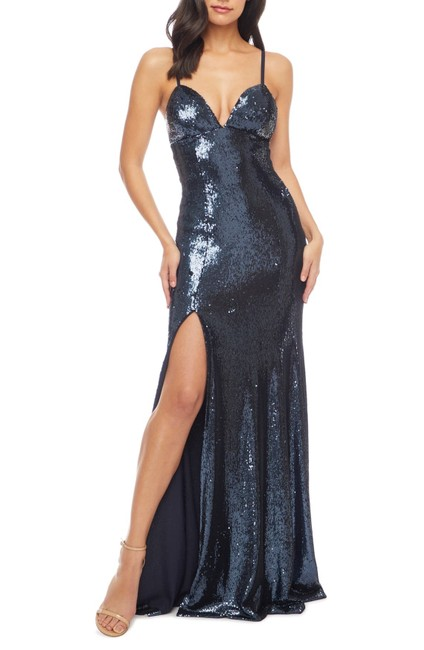Alejandra Slit Gown Long Formal Dress