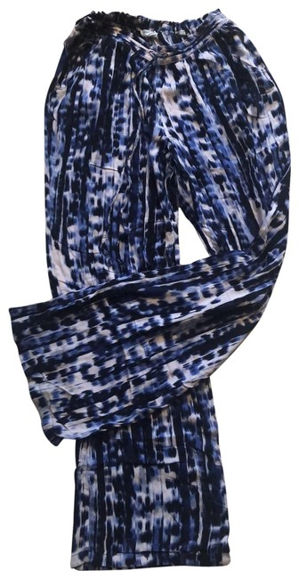 Item - Blue and White Tie Dye Pants Size 4 (S, 27)