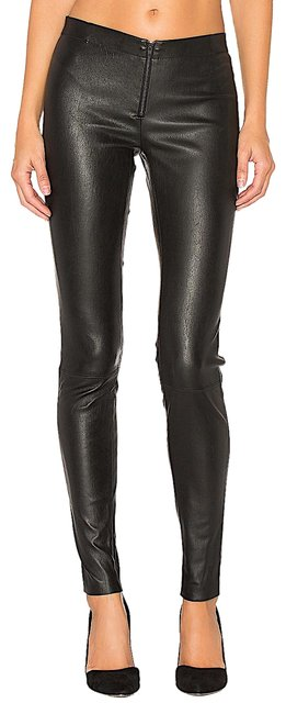 Preload https://img-static.tradesy.com/item/26192612/alice-olivia-black-with-tag-leather-jeggings-size-26-2-xs-0-3-650-650.jpg
