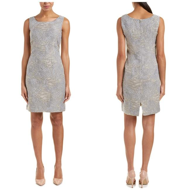 Preload https://img-static.tradesy.com/item/26192673/lafayette-148-new-york-grey-rosalind-silk-blend-sheath-short-cocktail-dress-size-4-s-0-0-650-650.jpg