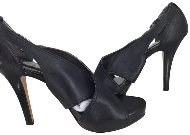 Coach Black Adele Heels Leather Formal Shoes Size US 9 Regular (M, B) Coach Black Adele Heels Leather Formal Shoes Size US 9 Regular (M, B) Image 1