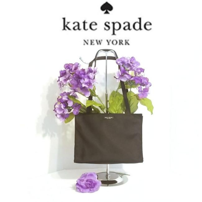 Kate Spade Small - Style 12324 In Black Nylon Tote Kate Spade Small - Style 12324 In Black Nylon Tote Image 1