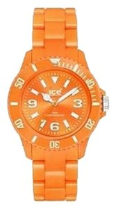 Ice CFOEUP10 Unisex Orange rubber band Analog Orange Dial Watch NWT